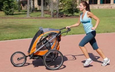 Corriendo con tu bebé de manera segura