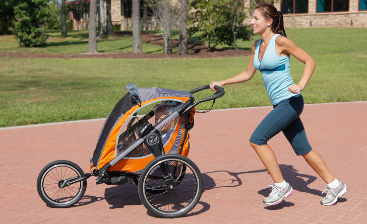 Jogging safely with your Baby