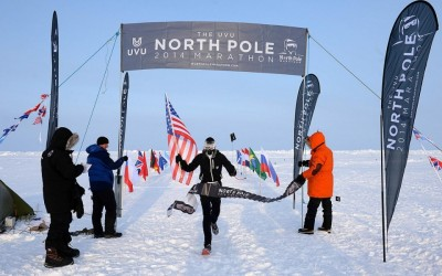 Running a Marathon at the North Pole