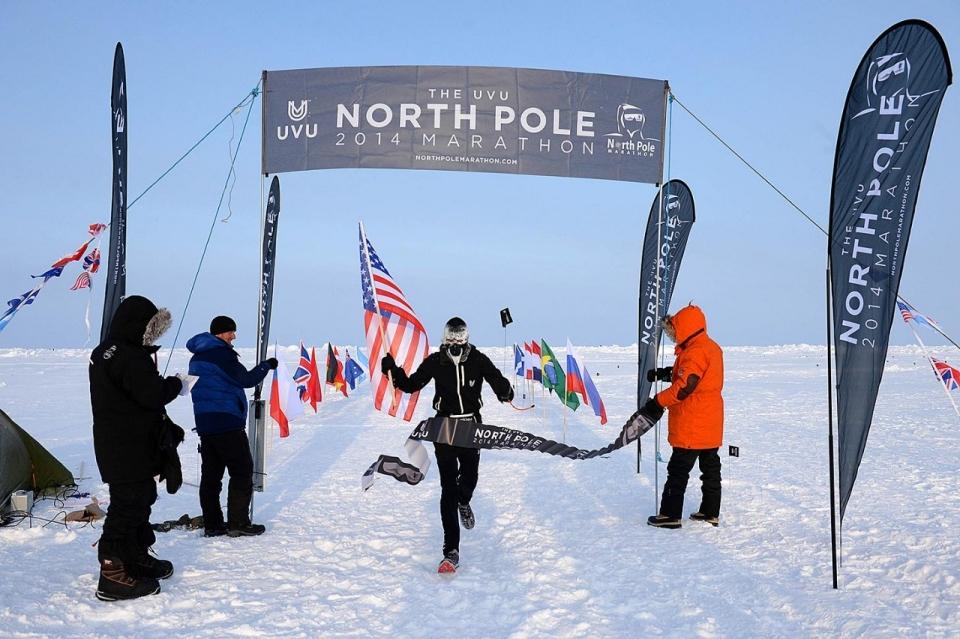 Ein Marathon am Nordpol?
