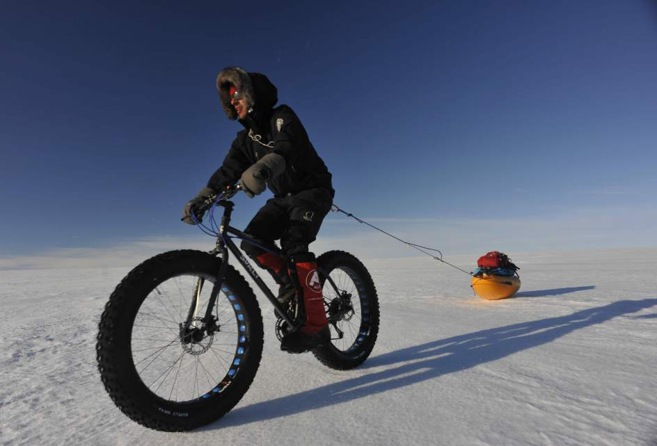 Antarctica Cycling Expeditions