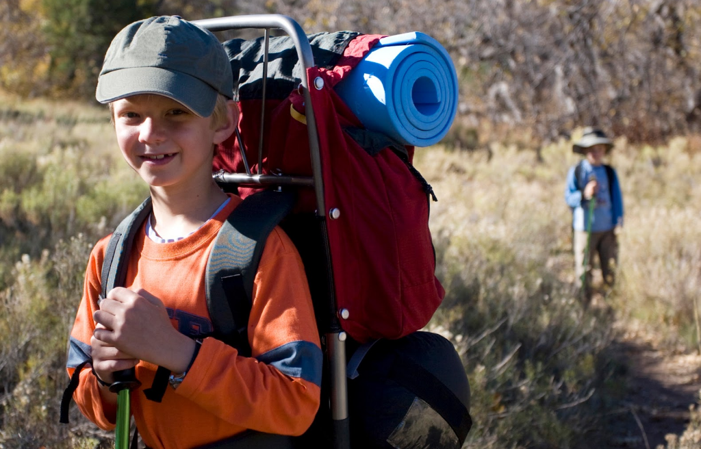 Don't overload your kid's backpack with stuff for summer camps