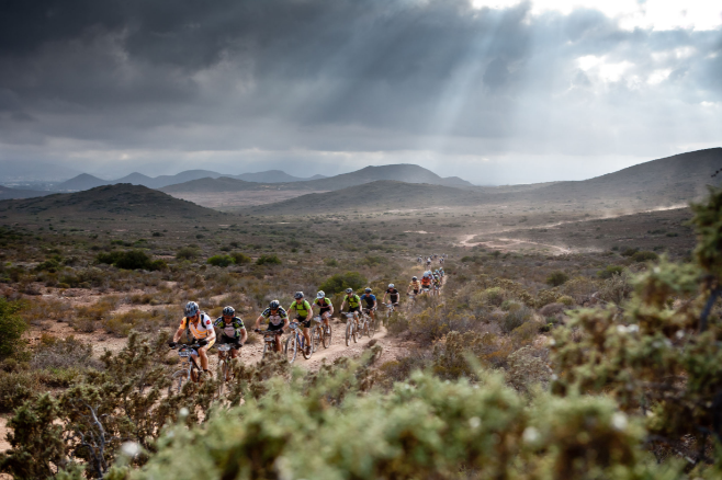 Just another day at Cape Epic