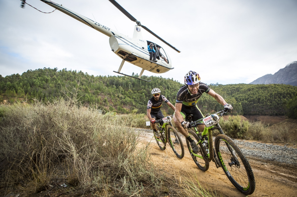 Cape Epic – Pedalling with the lions