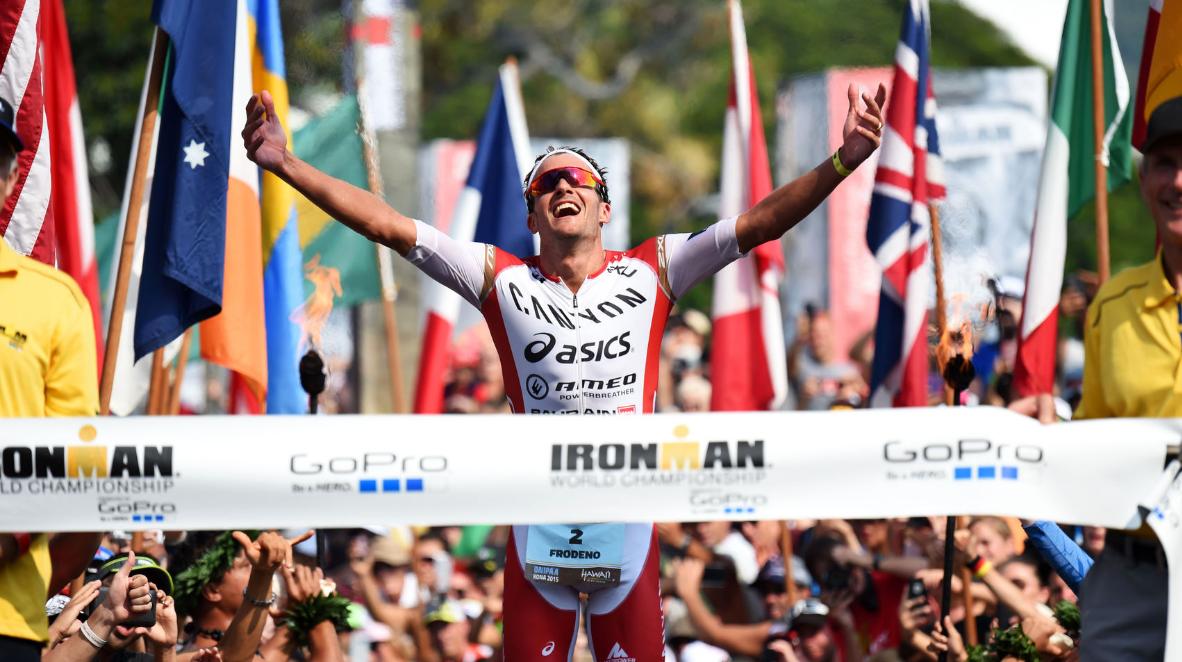 Jan Frodeno at Ironman 2015