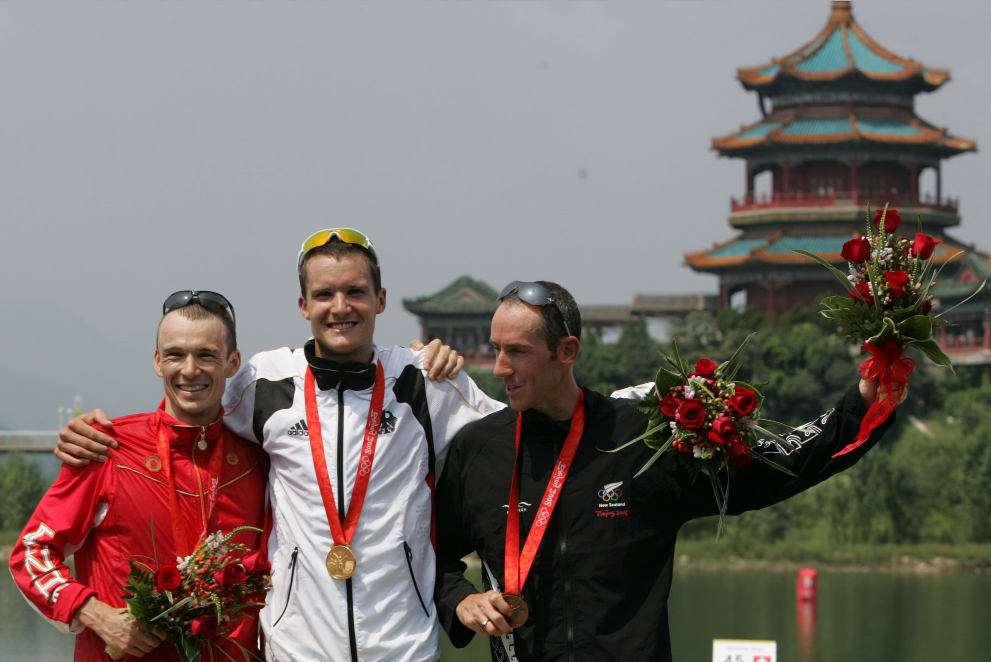 Jan Frodeno in Beijing 2008