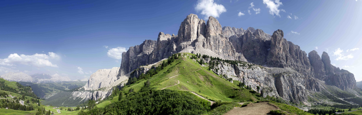 Do you imagine running across the Dolomites
