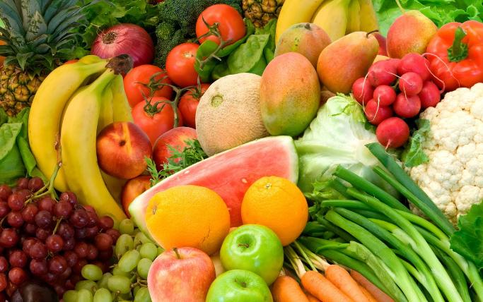 Fruta e verdure sono indispensabile per una buona nutrizione