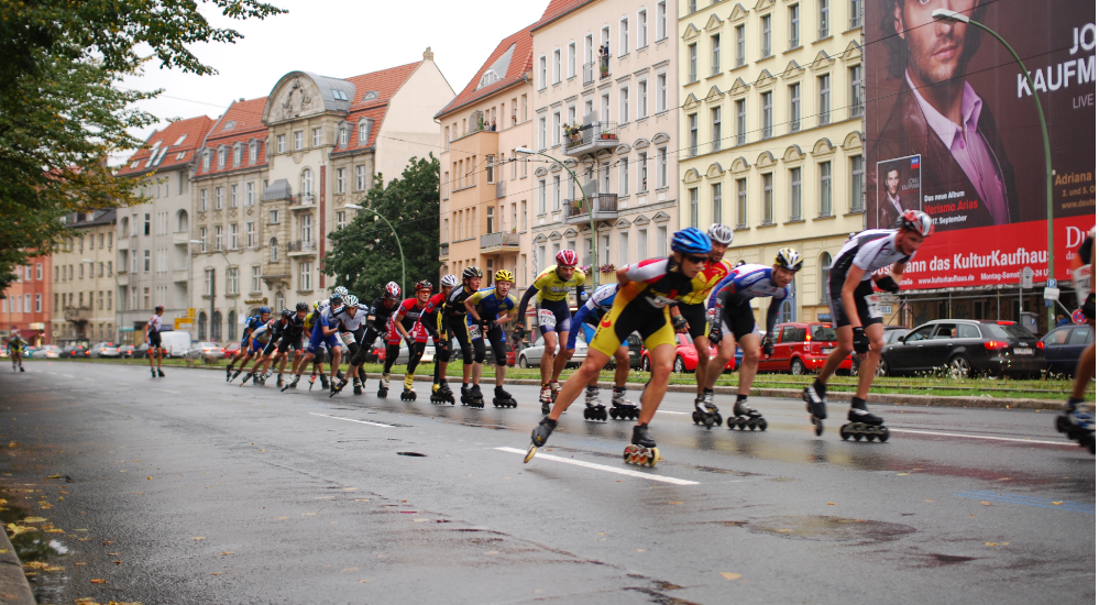 Berlin Marathon is also for skaters