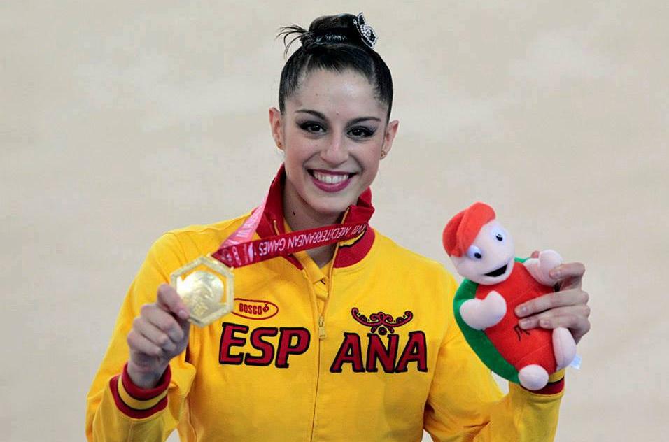 Carolina Rodríguez fue medalla de oro en los Juegos del Mediterráneo de 2013