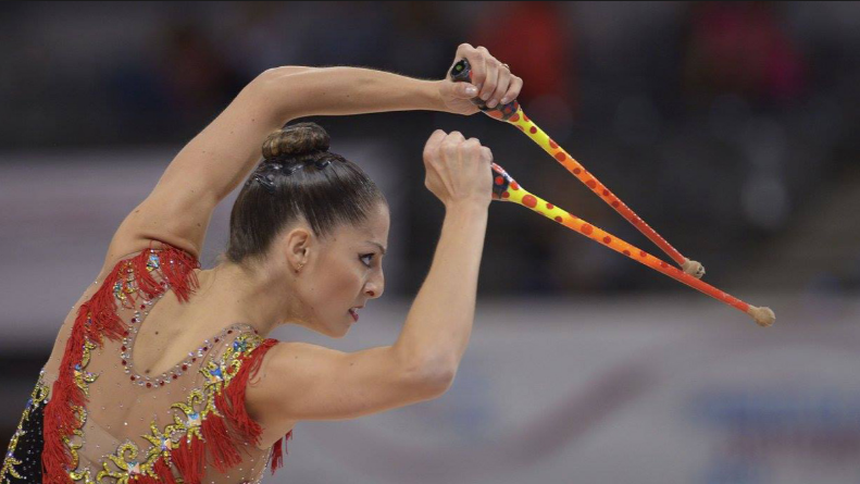 Ejercicio de mazas de Carolina Rodríguez