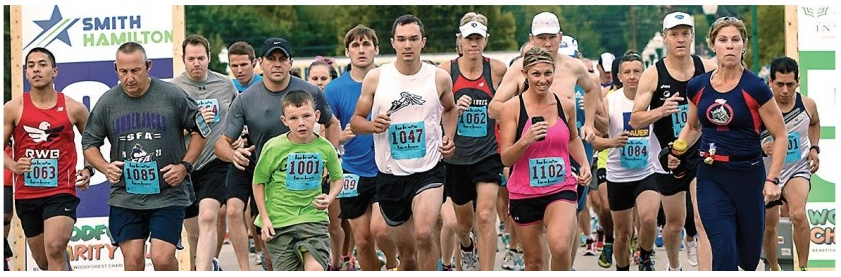 Woodforest Charity Race