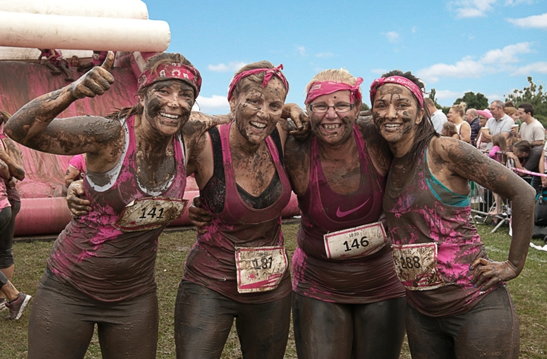 Pretty Muddy is a charity race only for the toughest