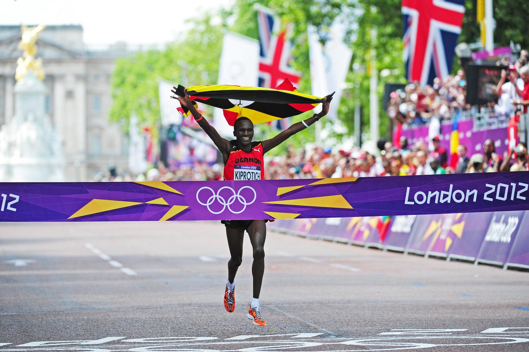 Ligne d'arrivée Jeux Olympiques Londres 2012