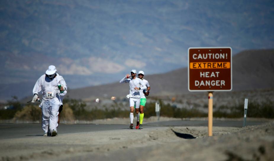 El trail de Badwater nos llevará al extremo en el Valle de la Muerte