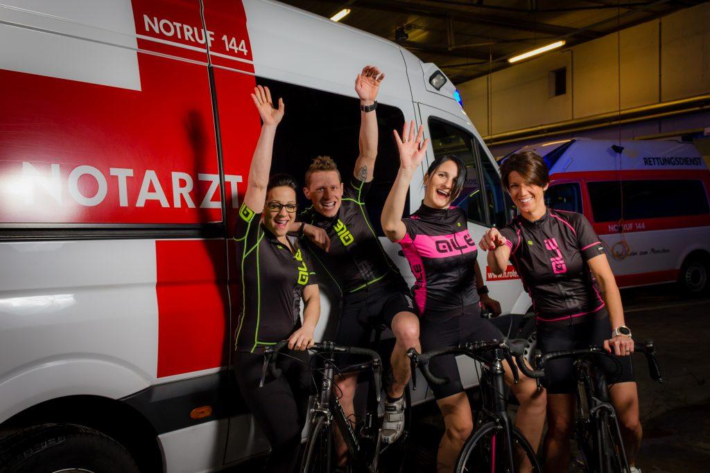 Das bike4kids Charity Radtour Veranstalter Team