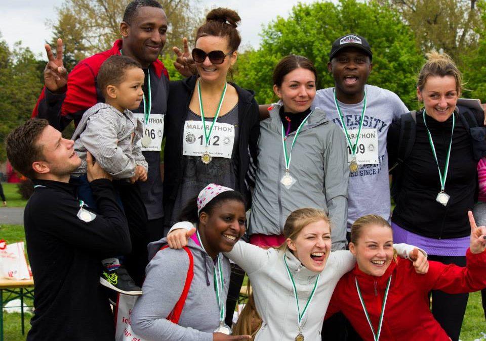Der Malarathon: Laufen für den Kampf gegen Malaria