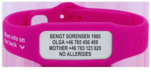 f5575f6ed9a2 Pulseras personalizadas identificativas - SafesportID